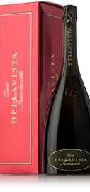 Вино игристое белое брют «Bellavista Franciacorta Cuvee Brut» в подарочной упаковке