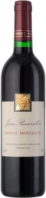 Вино красное полусладкое «Jean Beauvillon Rouge Moelleux»