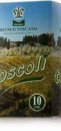 Вино белое сухое «Chiantigiane Toscoli Bianco Toscano»