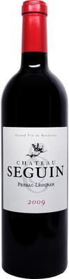 Вино красное сухое «Chateau Seguin Pessac-Leognan» 2009 г.