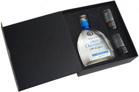 Текила «Gran Orendain Blanco» в подарочной упаковке с 2-мя стаканами