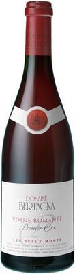 Вино красное сухое «Domaine Bertagna Vosne Romanee 1-er Cru Les Beaux Monts, 0.75 л» 2011 г.