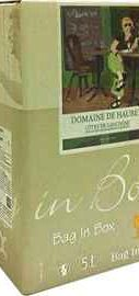 Вино белое сухое «Domaine de Haubet» 2013 г., тетрапак