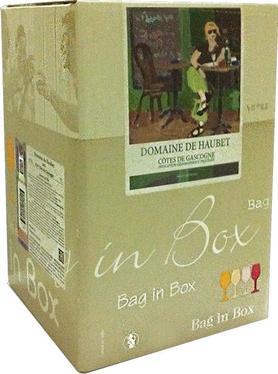 Вино белое сухое «Domaine de Haubet, 10 л» 2013 г., тетрапак