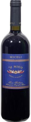 Вино красное сухое «Miceli U Nicu Nero d'Avola» 2010 г.