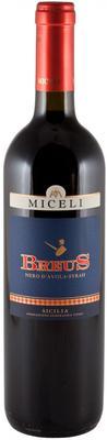 Вино красное сухое «Miceli Breus» 2008 г.
