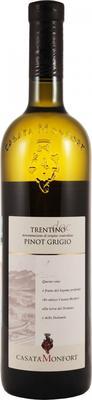 Вино белое сухое «Monfort Pinot Grigio» 2013 г.