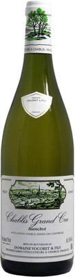 Вино белое сухое «Domaine Vocoret Chablis Grand Cru Blanchot, 0.75 л» 2013 г.