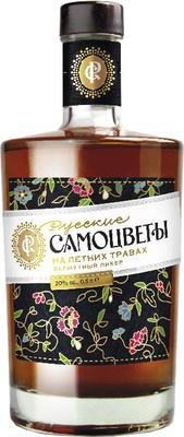 Ликер десертный «Русские самоцветы на летних травах, 0.5 л»
