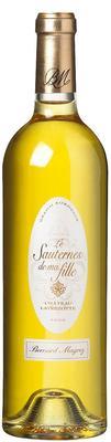 Вино белое сладкое  «Chateau Latrezotte le Sauternes de ma Fille» 2012 г.