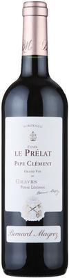 Вино красное сухое  «Le Prelat de Pape Clement» 2009 г.