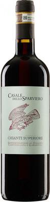 Вино красное сухое «Casale dello Sparviero Chianti Superiore» 2014 г.