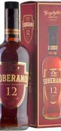 Бренди «Soberano Solera Gran Reserva » в подарочной упаковке