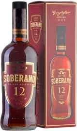 Бренди «Soberano Solera Gran Reserva» в подарочной упаковке