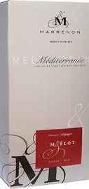 Вино красное сухое «Marrenon Merlot Vin de Pays de Mediterranee» 2013 г.