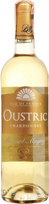 Вино белое сухое «Bernard Magrez Oustric Chardonnay»