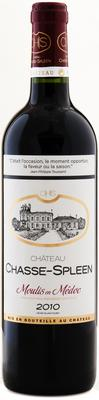 Вино красное сухое «Chateau Chasse Spleen Moulis en Medoc, 0.75 л» 2010 г.