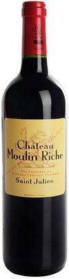 Вино красное сухое «Chateau Moulin Riche, 0.75 л» 2011 г.