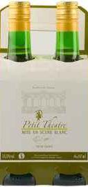 Вино белое полусладкое «Paul Sapin Petit Theatre Mise en Scene» подарочный набор из 4-х бутылок