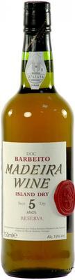 Вино крепленое сухое «Barbeito Island Dry 5 Years Old»