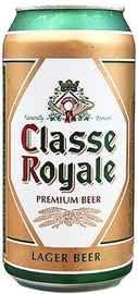 Пиво «Classe Royale Premium Lager» в жестяной банке