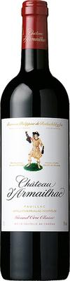 Вино красное сухое «Chateau d'Armailhac Grand Cru Classe» 2006 г.
