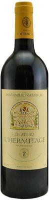 Вино красное сухое «Chateau L'Hermitage Grand Cru» 2004 г.