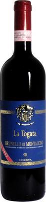 Вино красное сухое «La Togata Brunello di Montalcino Riserva» 2004 г.