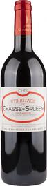 Вино красное сухое «L`Heritage de Chasse-Spleen» 2009 г.