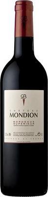 Вино красное сухое «Chateau Mondion» 2011 г.