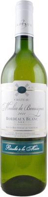 Вино белое сухое «Chateau Moulin de Beausejour» 2011 г.