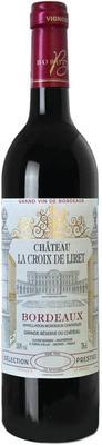 Вино красное сухое «Chateau La Croix de Liret» 2012 г.