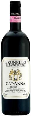 Вино красное сухое «Capanna Brunello di Montalcino Riserva» 2006 г. с защищенным географическим указанием