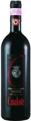 Вино красное сухое «Casaloste Chianti Classico Riserva» 2009 г. с защищенным географическим указанием
