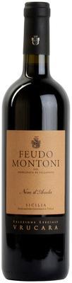 Вино красное сухое «Feudo Montoni Vrucara Nero d'Avola» 2009 г. с защищенным географическим указанием