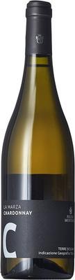 Вино белое сухое «Feudo Montoni Chardonnay La Marza» 2014 г. с защищенным географическим указанием