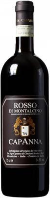 Вино красное сухое «Capanna Rosso di Montalcino» 2013 г. с защищенным географическим указанием