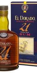 Ром «El Dorado 21 Years Old» в подарочной упаковке