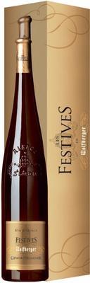 Вино белое сладкое  «Wolfberger Gewurztraminer Les Festives» 2012 г., в подарочной упаковке