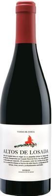 Вино красное сухое «Altos de Losada» с защищенным географическим указанием