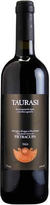 Вино красное сухое «Pietracupa Taurasi» с защищенным географическим указанием