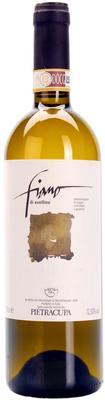 Вино белое сухое «Pietracupa Fiano di Avellino» с защищенным географическим указанием