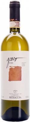 Вино белое сухое «Pietracupa Greco di Tufo» с защищенным географическим указанием