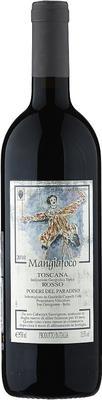 Вино красное сухое «Poderi del Paradiso Mangiafoco» 2010 г. с защищенным географическим указанием