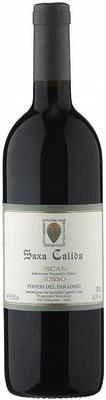 Вино красное сухое «Poderi del Paradiso Saxa Calida Rosso» 2007 г. с защищенным географическим указанием