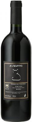 Вино красное сухое «Poderi del Paradiso A Filippo, 0.75 л» 2012 г. с защищенным географическим указанием