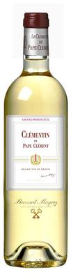 Вино белое сухое «Le Clementin du Chateau Pape Clement blanc» 2010 г.