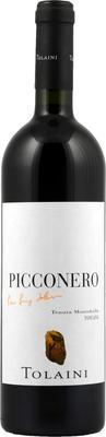 Вино красное сухое «Tolaini Picconero Tenuta Montebello» 2010 г. с защищенным географическим указанием