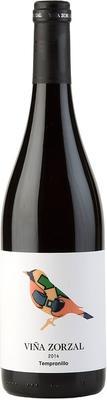 Вино красное сухое «Vina Zorzal Tempranillo» 2014 г. с защищенным географическим указанием