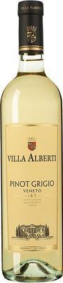 Вино белое сухое «Pinot Grigio Veneto Villa Alberti» 2015 г.